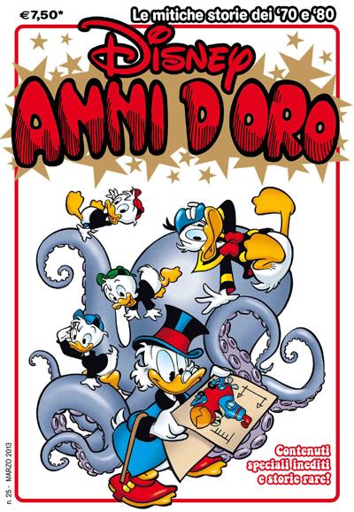 Cover Disney Anni d'Oro 25