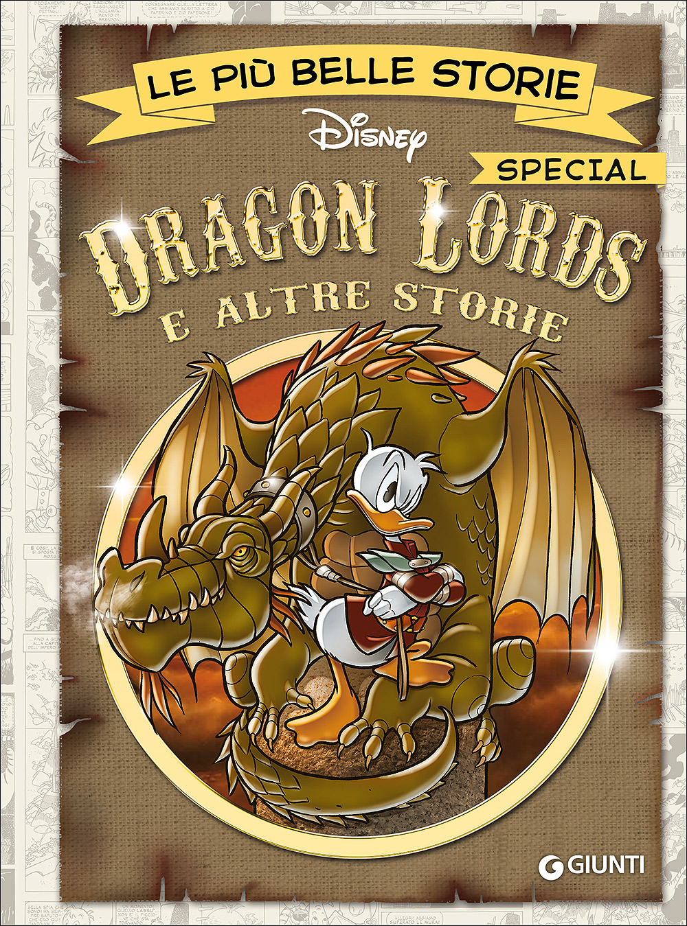 Cover Le più belle storie Disney - Special Edition 3 - Dragon Lords e altre storie