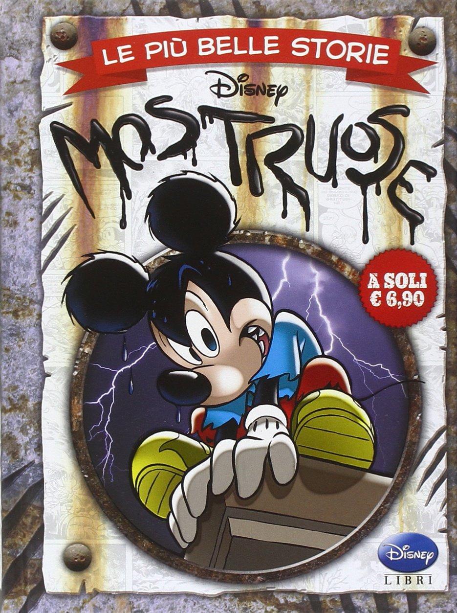Cover Le più belle storie Disney 13 - Mostruose