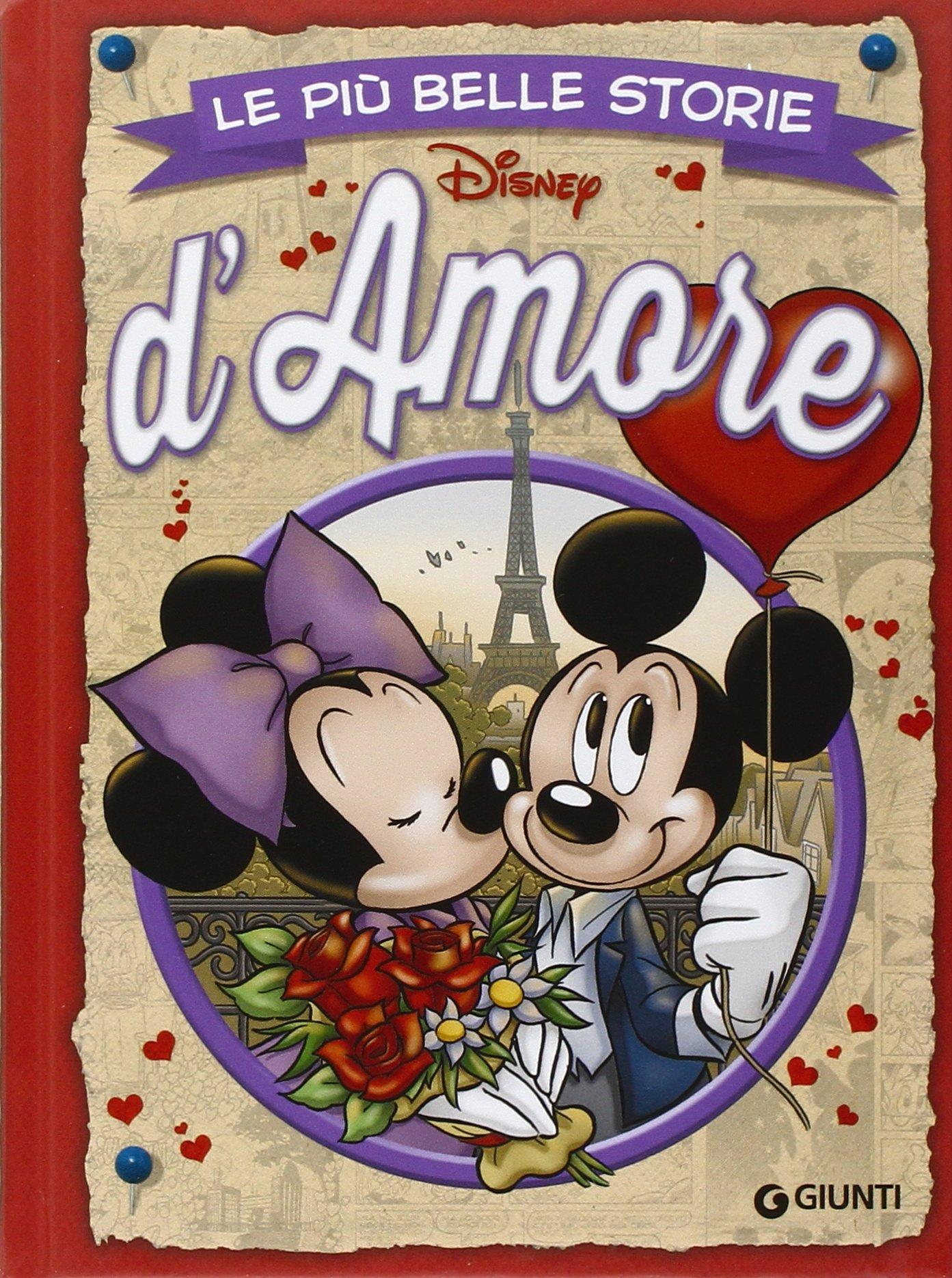 Cover Le più belle storie Disney 24 - d'Amore