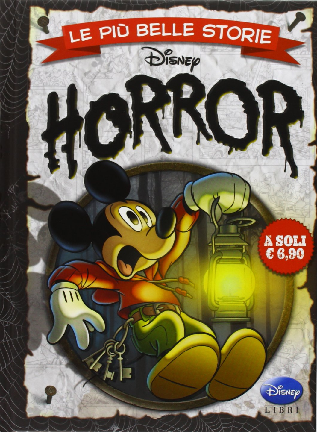 Cover Le più belle storie Disney 4 - Horror