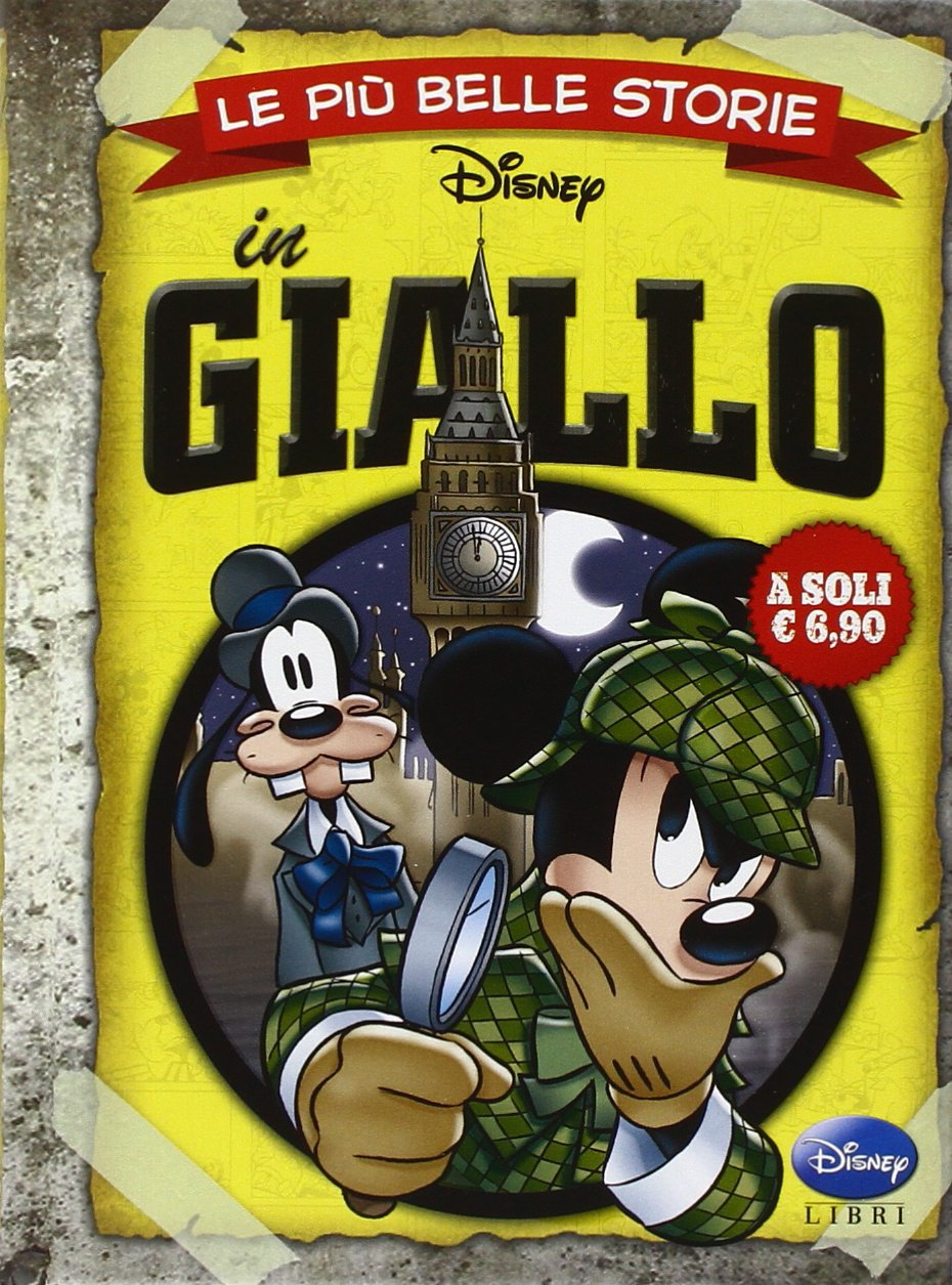 Cover Le più belle storie Disney 8 - in Giallo