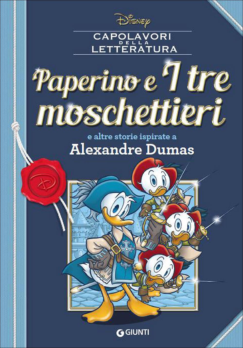 Cover Capolavori della Letteratura 2 - Paperino e I tre moschettieri