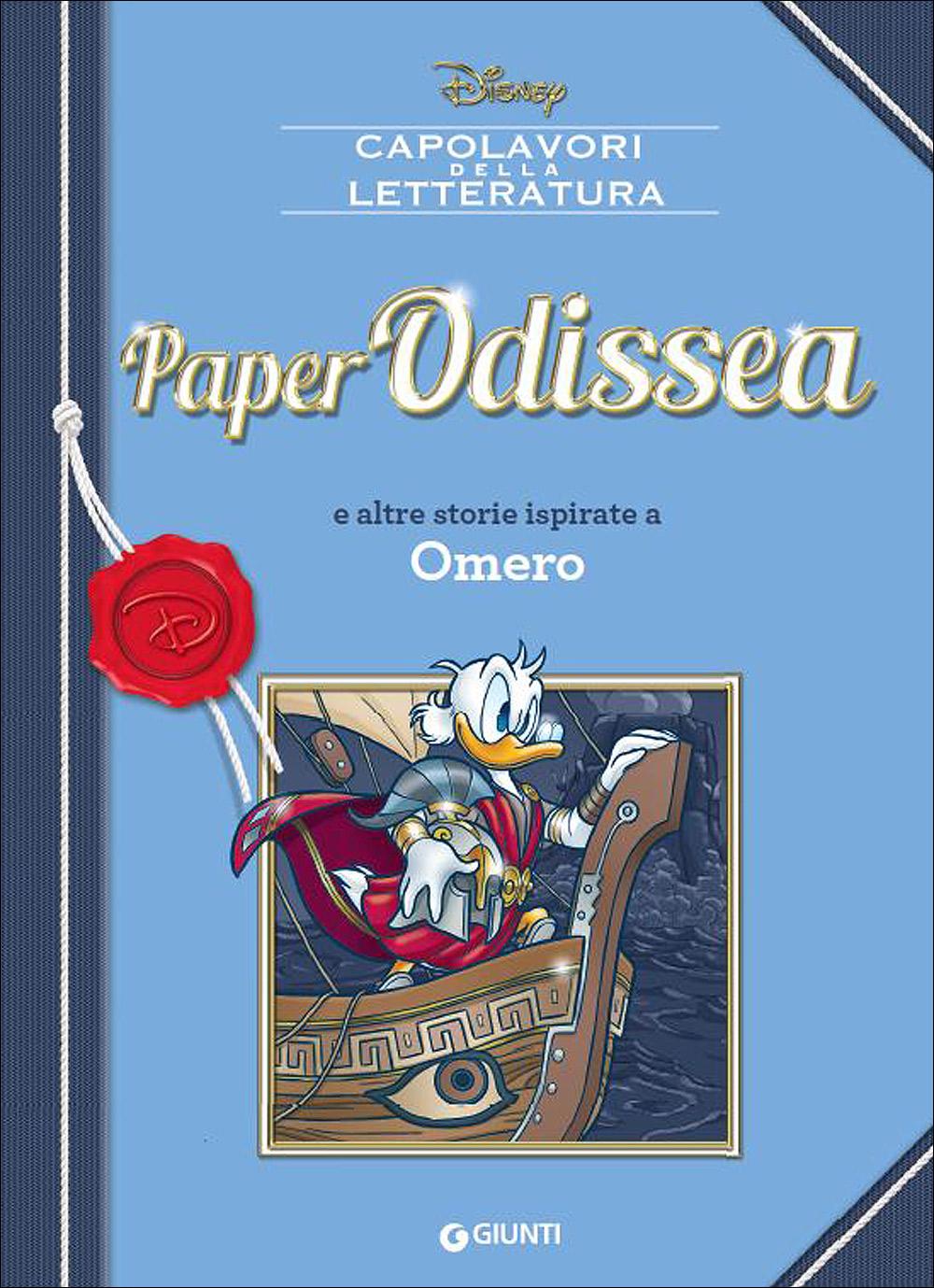 Cover Capolavori della Letteratura 4 - PaperOdissea