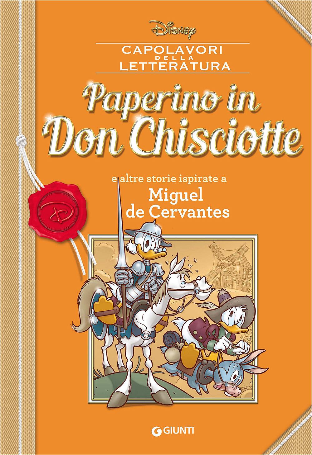 Cover Capolavori della Letteratura 6 - Paperino in Don Chisciotte
