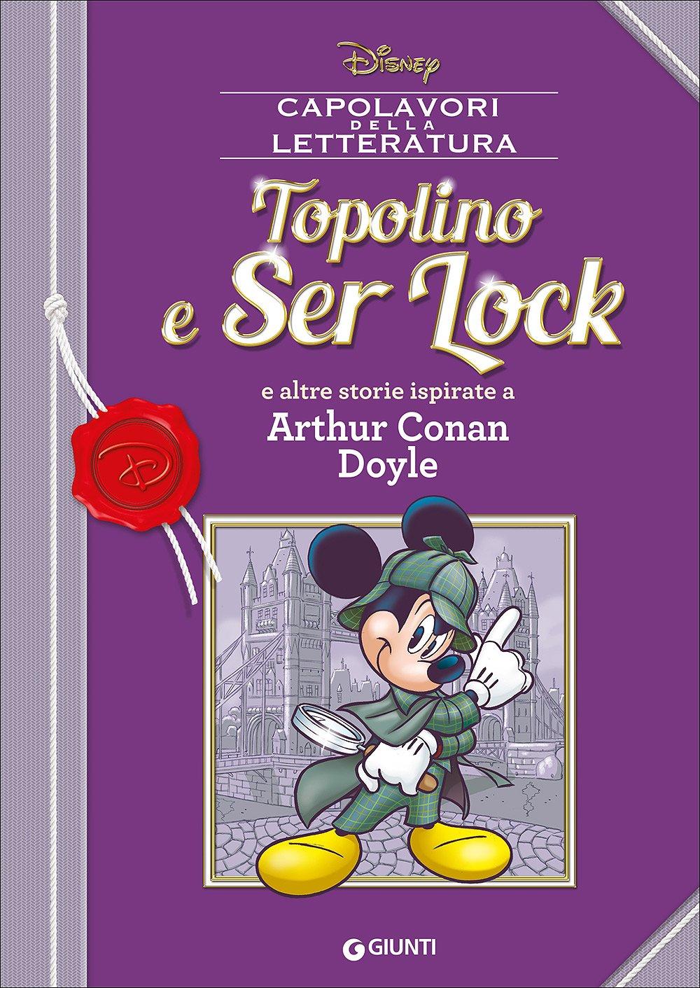 Cover Capolavori della Letteratura 7 - Topolino e Ser Lock
