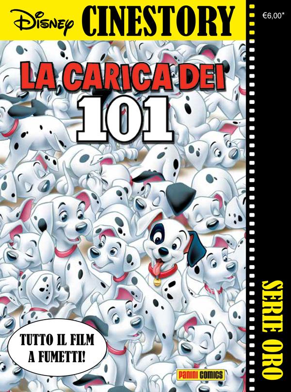 Cover Disney Cinestory Oro 1 - La carica dei 101