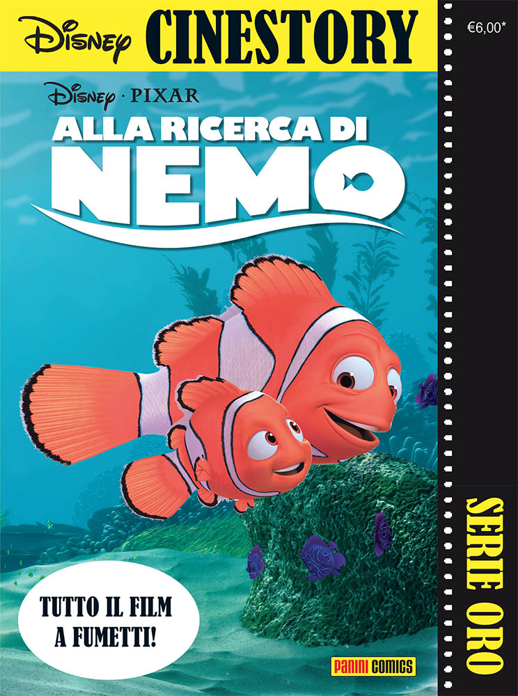 Cover Disney Cinestory Oro 3 - Alla ricerca di Nemo