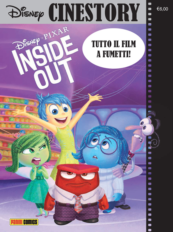 Cover Disney Cinestory 1 - Inside Out