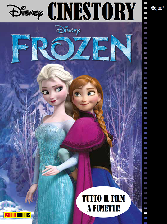 Cover Disney Cinestory 2 - Frozen
