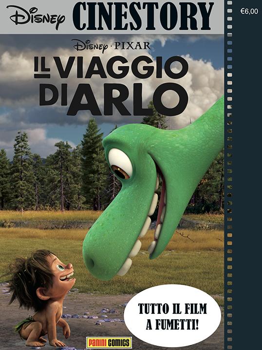 Cover Disney Cinestory 3 - Il viaggio di Arlo