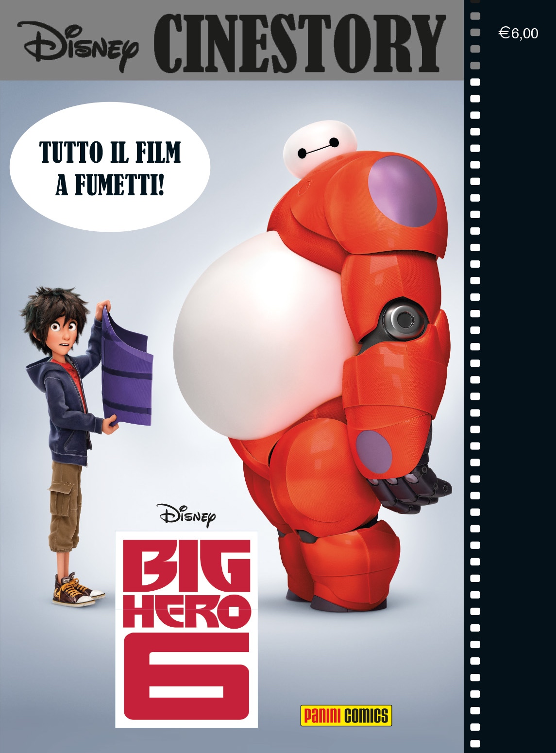 Cover Disney Cinestory 4 - Big Hero 6