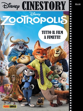 Cover Disney Cinestory 5 - Zootropolis
