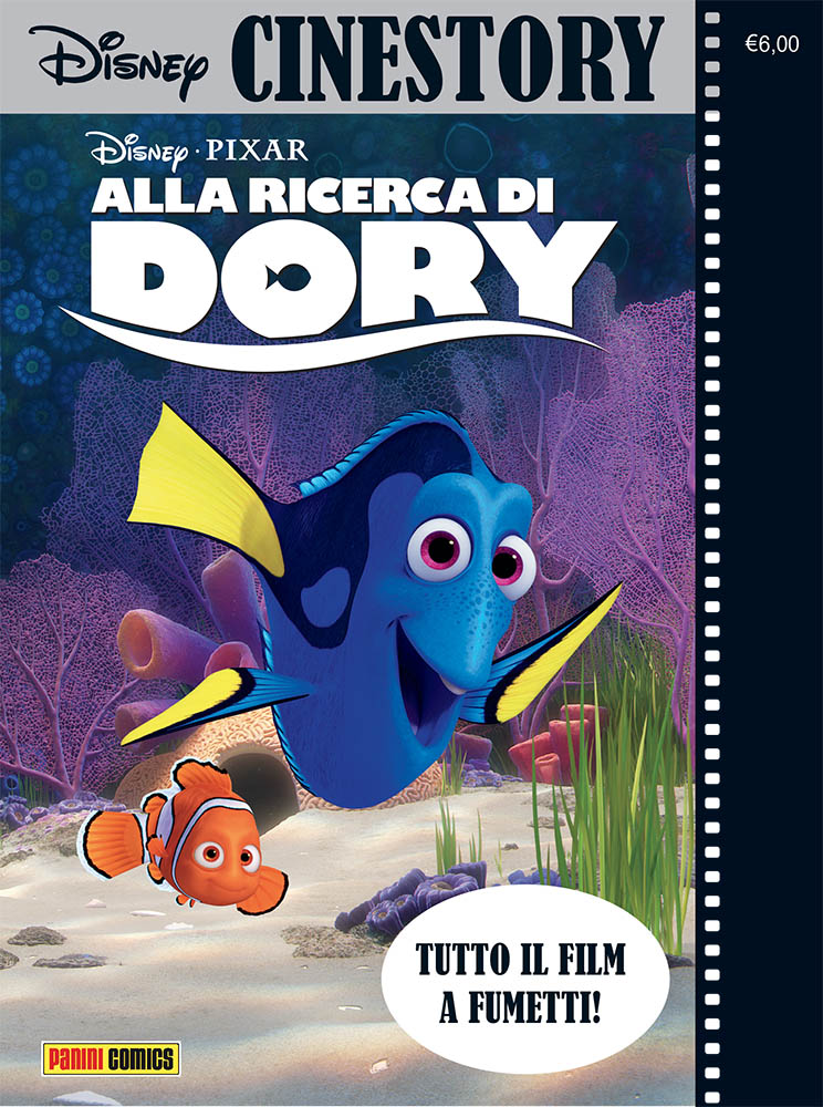 Cover Disney Cinestory 6 - Alla ricerca di Dory