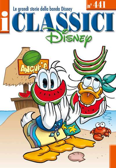 Cover i Classici Disney 441