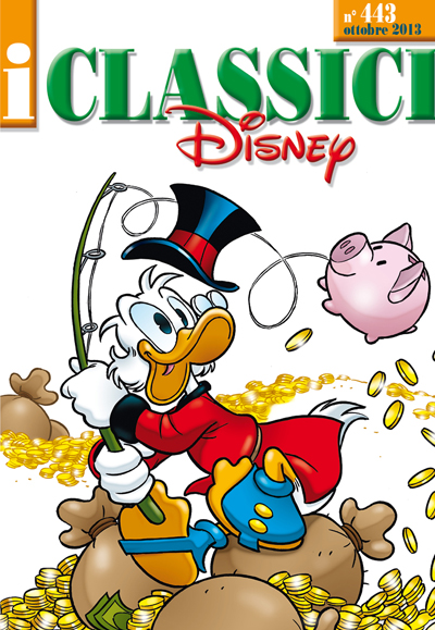 Cover i Classici Disney 443