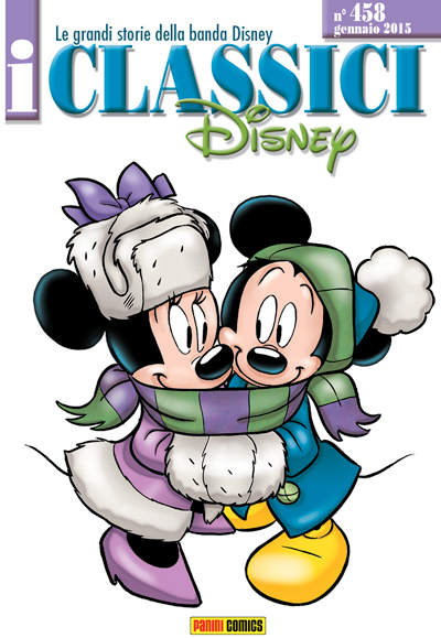 Cover i Classici Disney 458