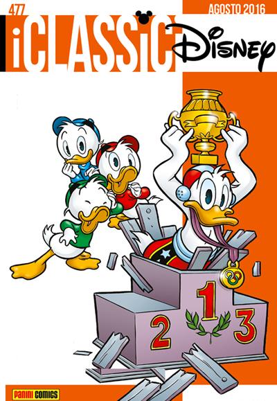 Cover i Classici Disney 477