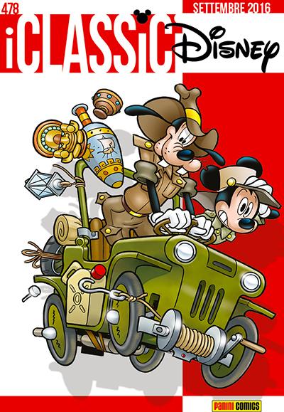Cover i Classici Disney 478