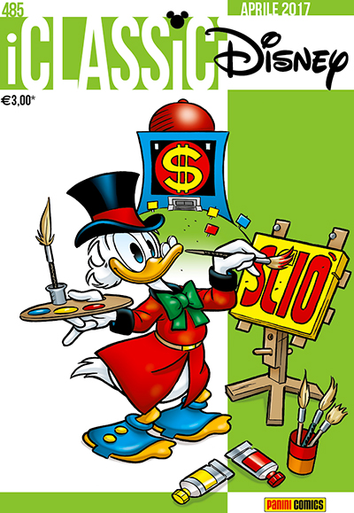 Cover i Classici Disney 485