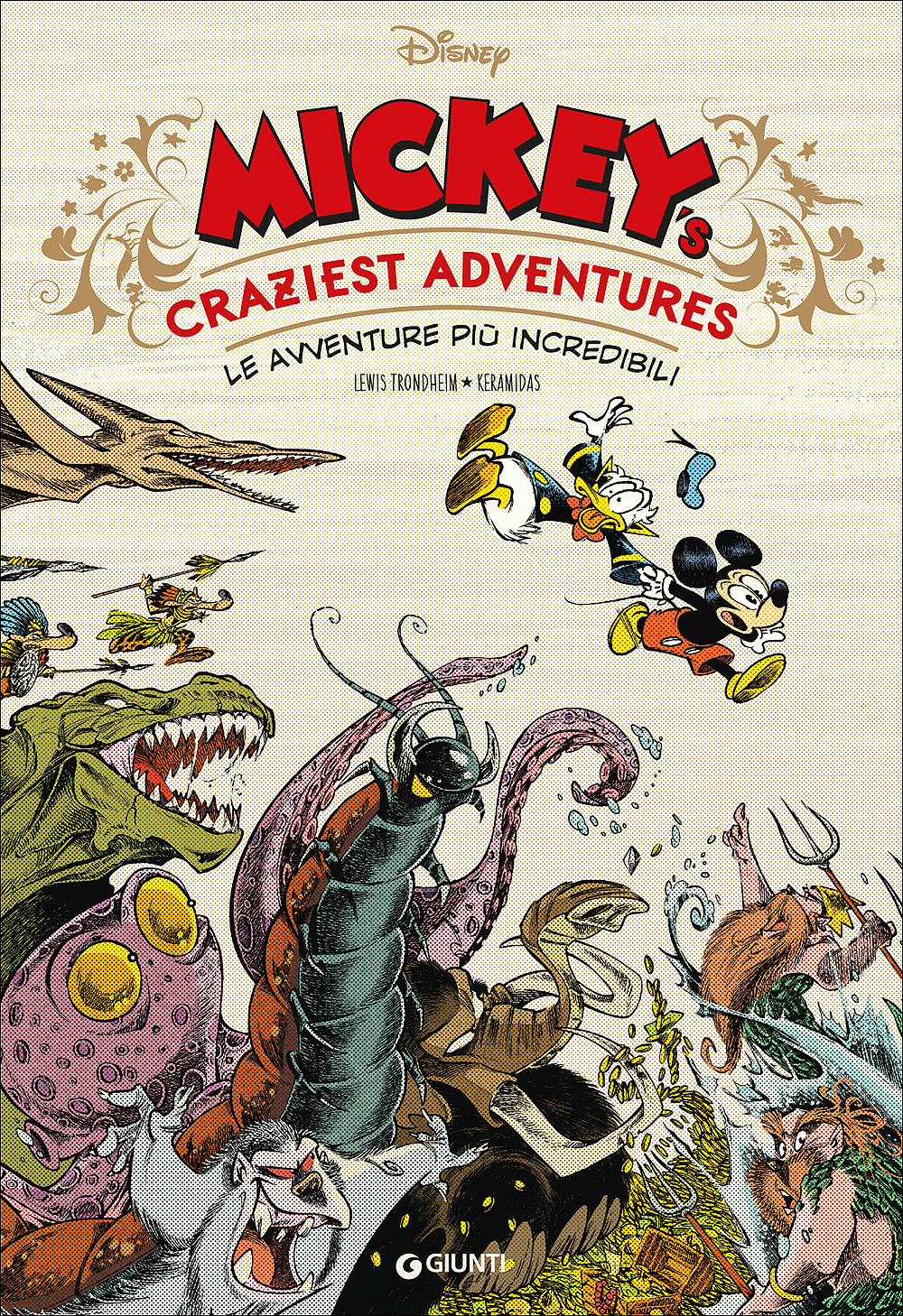 Cover Disney Comic Collection 1 - Mickey's craziest adventures - Le avventure più incredibili