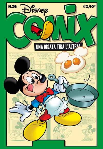 Cover Disney Comix 26
