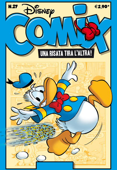 Cover Disney Comix 27