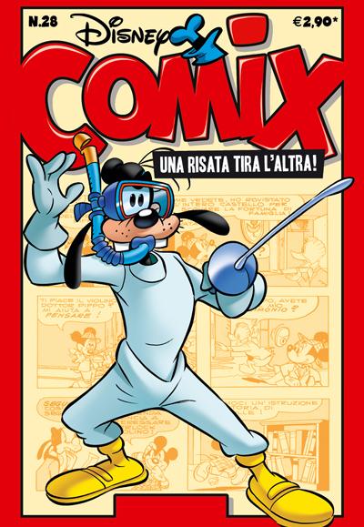 Cover Disney Comix 28