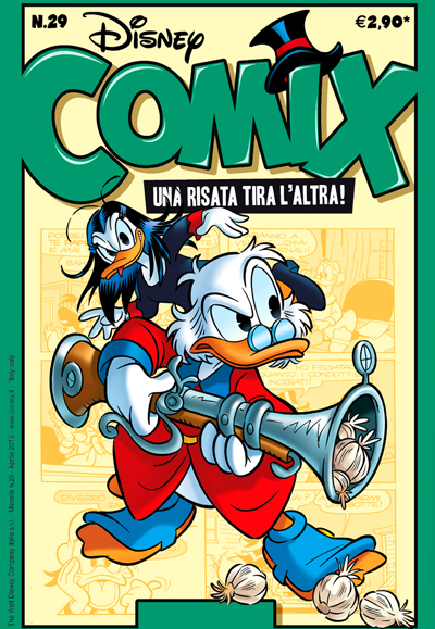 Cover Disney Comix 29