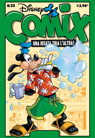 Cover Disney Comix 33
