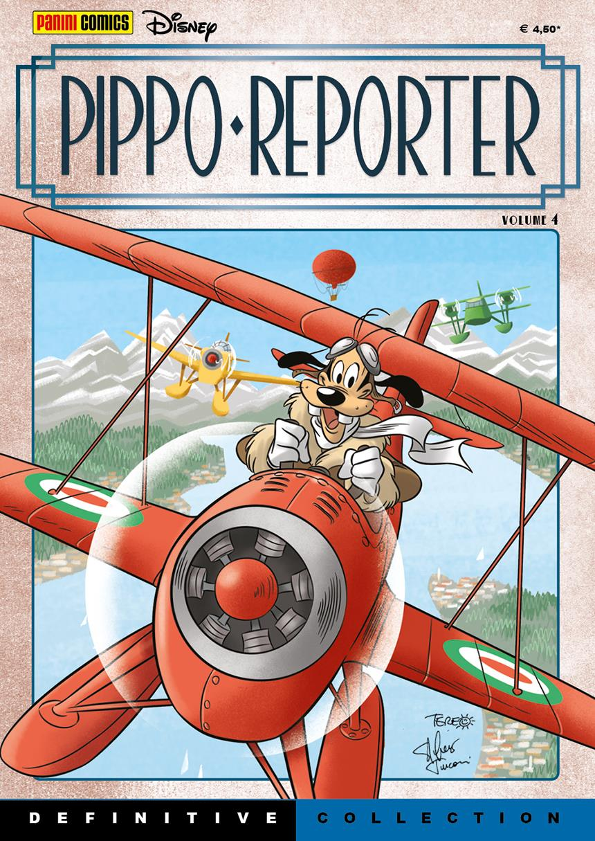 Cover Definitive Collection 15 - Pippo Reporter vol. 4