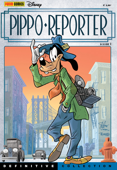 Cover Definitive Collection 3 - Pippo Reporter vol. 1