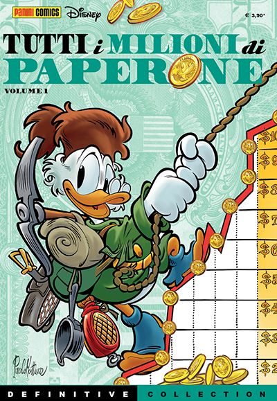 Cover Definitive Collection 4 - Tutti i milioni di Paperone vol. 1