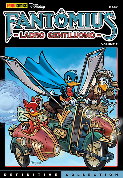 Cover Definitive Collection 5 - Fantomius vol. 2
