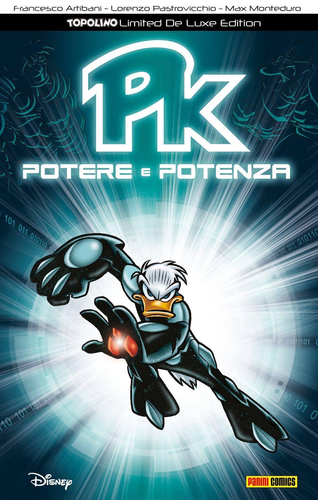 Cover variant Topolino Limited De Luxe Edition 2 - Pk Potere e Potenza