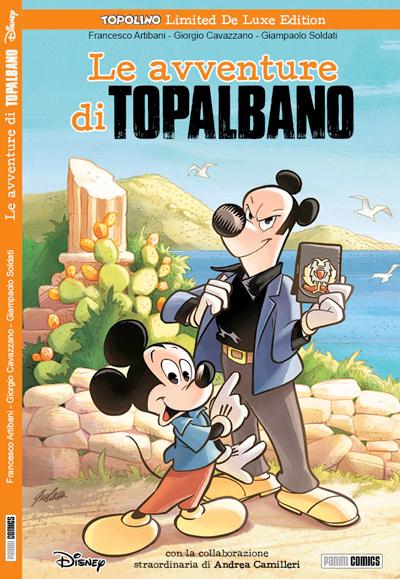 Cover Topolino Limited De Luxe Edition 3 - Le avventure di Topalbano