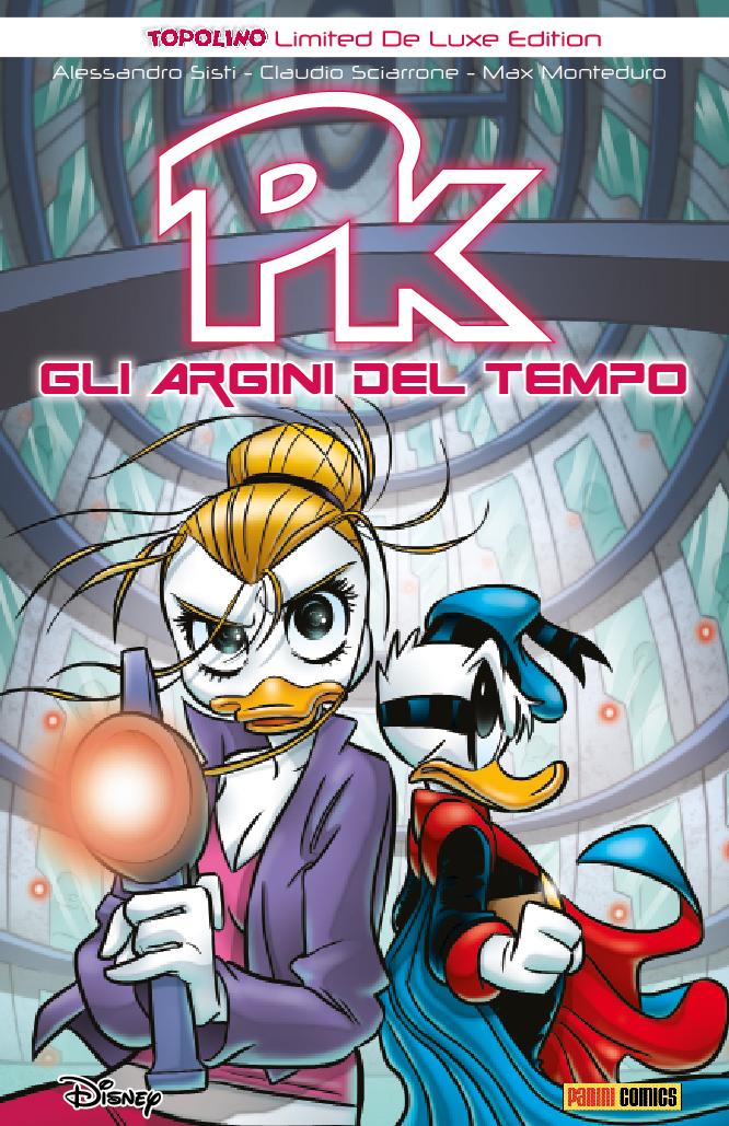 Cover Topolino Limited De Luxe Edition 4 - Pk Gli argini del tempo