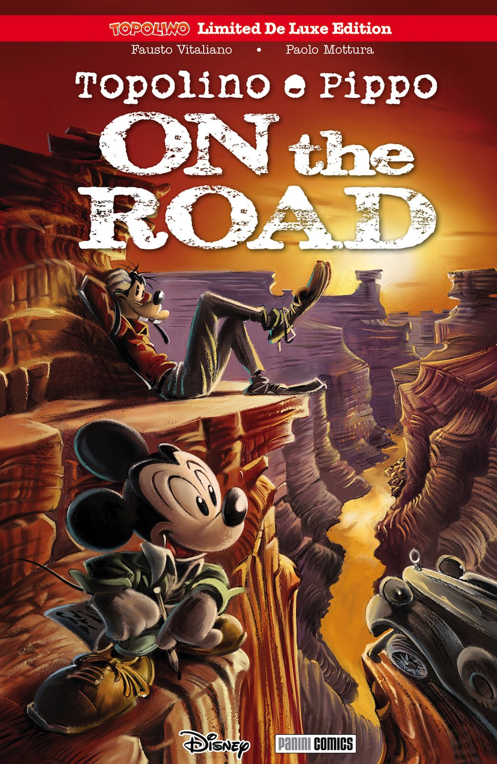 Cover Topolino Limited De Luxe Edition 5 - On the Road