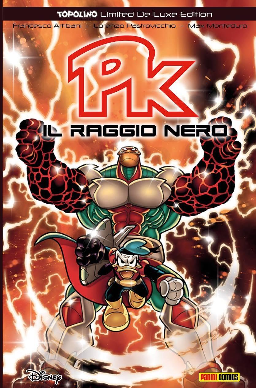 Cover Topolino Limited De Luxe Edition 7 - Pk Il raggio nero