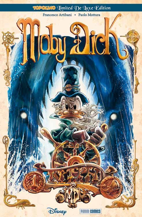 Cover Topolino Limited De Luxe Edition 8 - Moby Dick