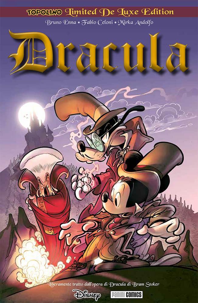 Cover Topolino Limited De Luxe Edition 9 - Dracula di Bram Topker