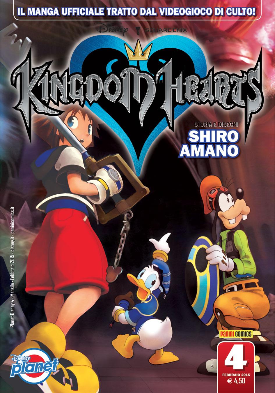 Cover Disney Planet 4 - Kingdom Hearts 4