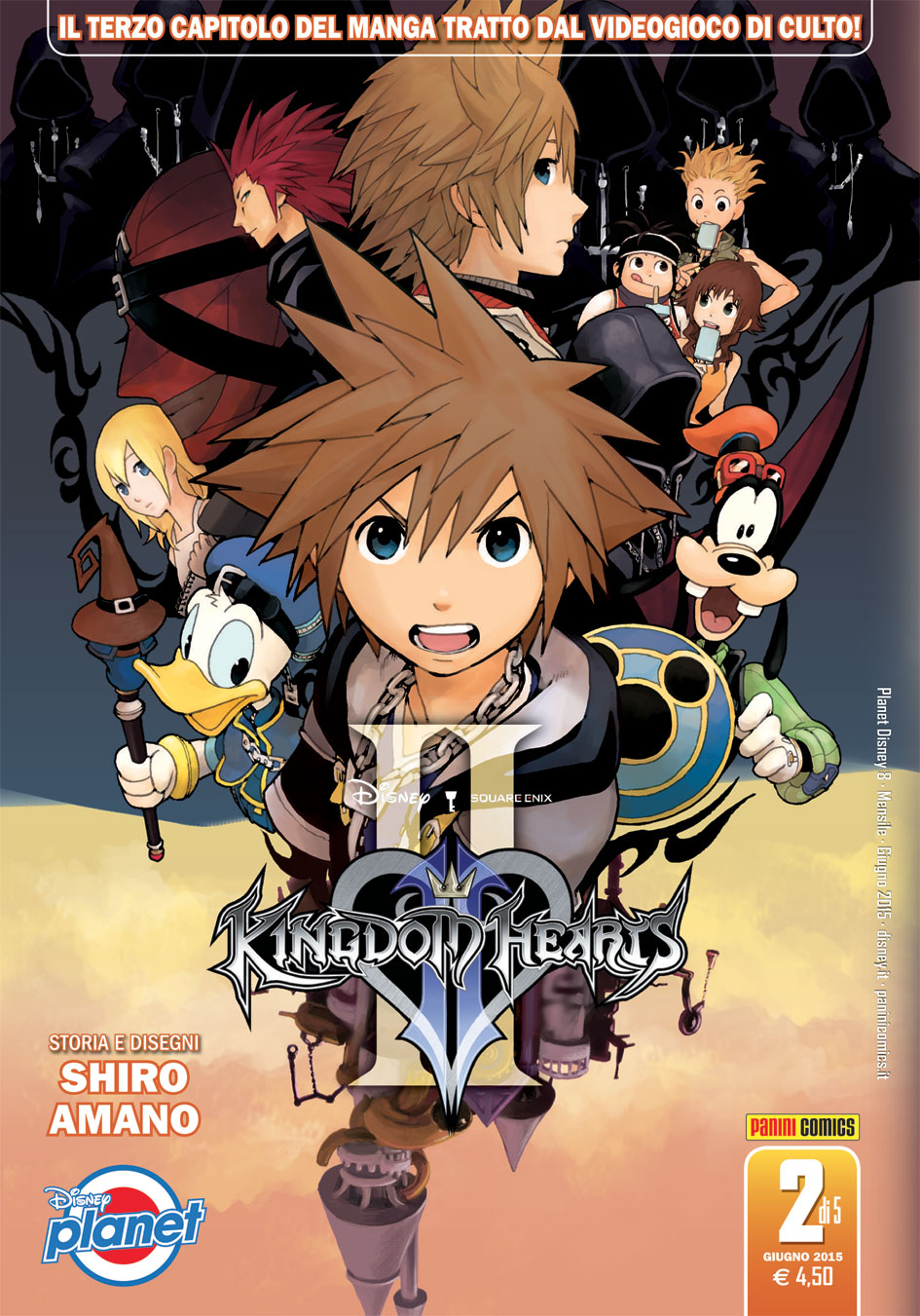 Cover Disney Planet 8 - Kingdom Hearts II - 2 di 5