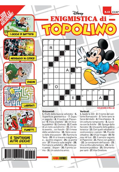 Cover Enigmistica di Topolino 13