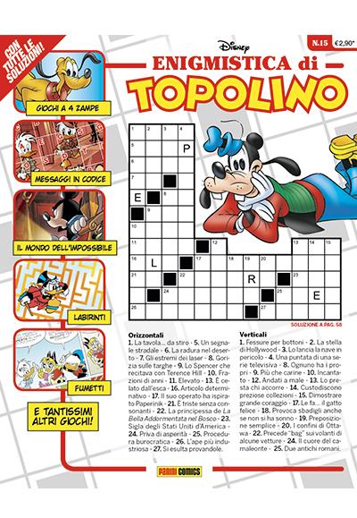 Cover Enigmistica di Topolino 15