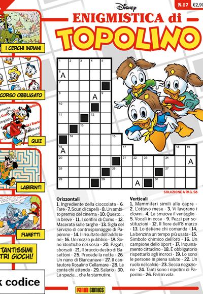 Cover Enigmistica di Topolino 17