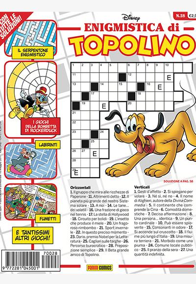 Cover Enigmistica di Topolino 28