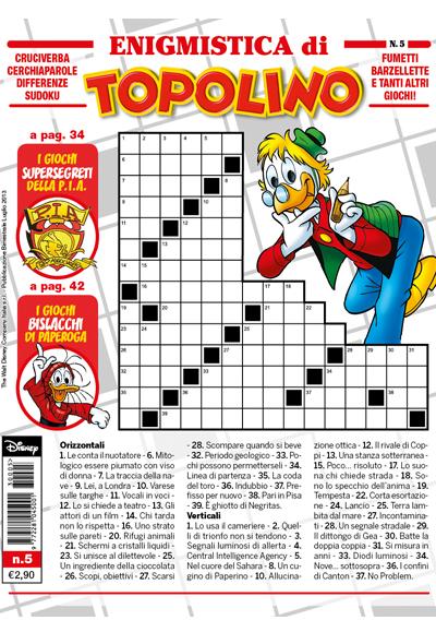 Cover Enigmistica di Topolino 5