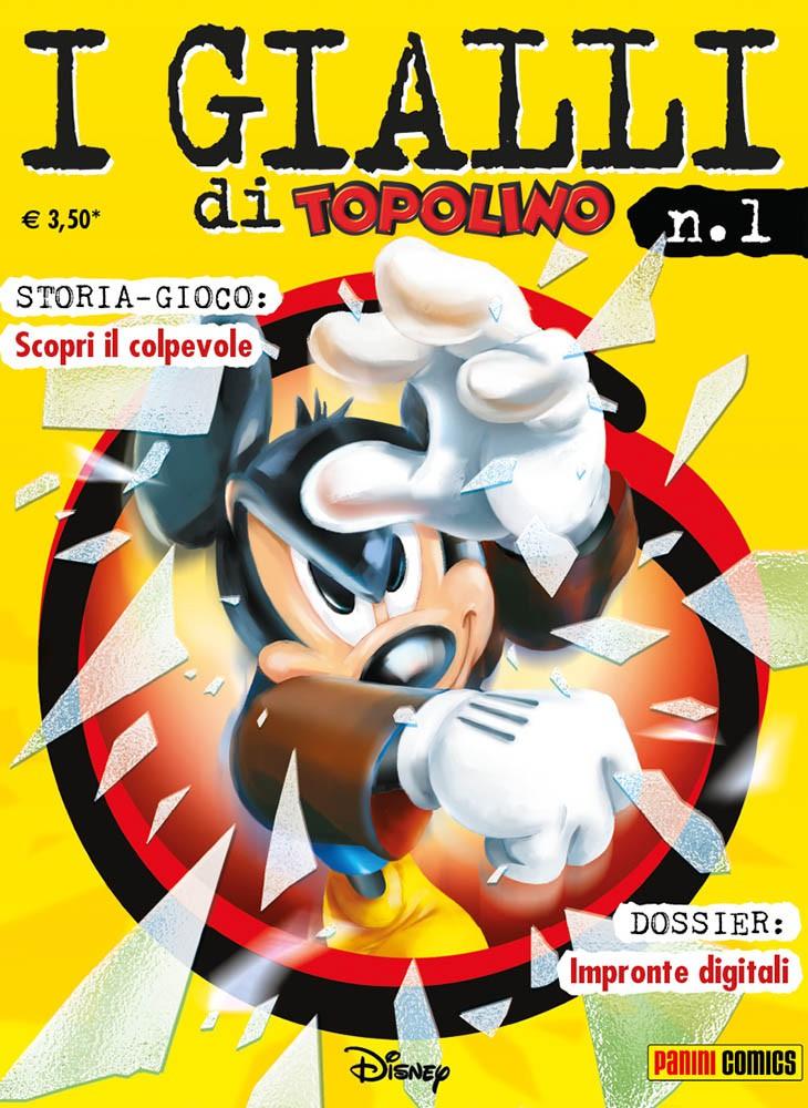 Cover I gialli di Topolino 1