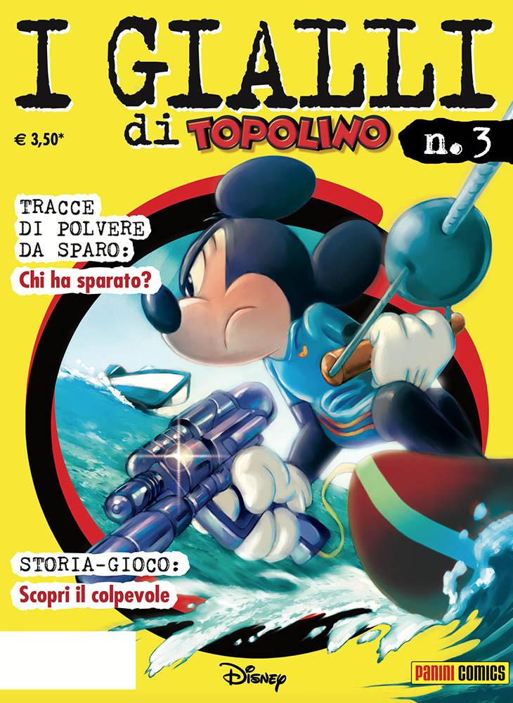 Cover I gialli di Topolino 3